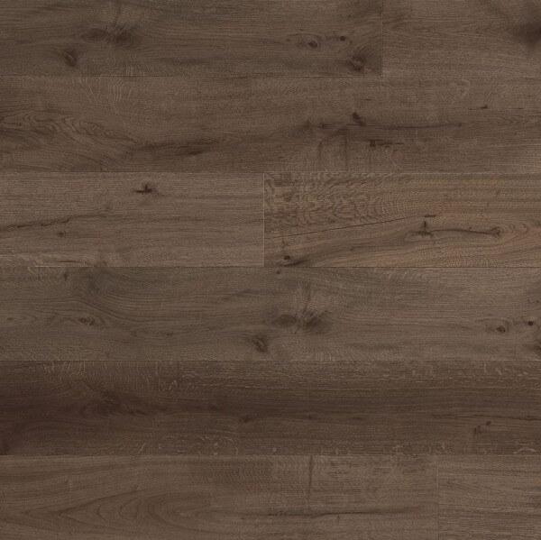 Landhausdiele Eiche Cottage 190 mm · Paris Brown astig leicht gebürstet lackiert · Lamett