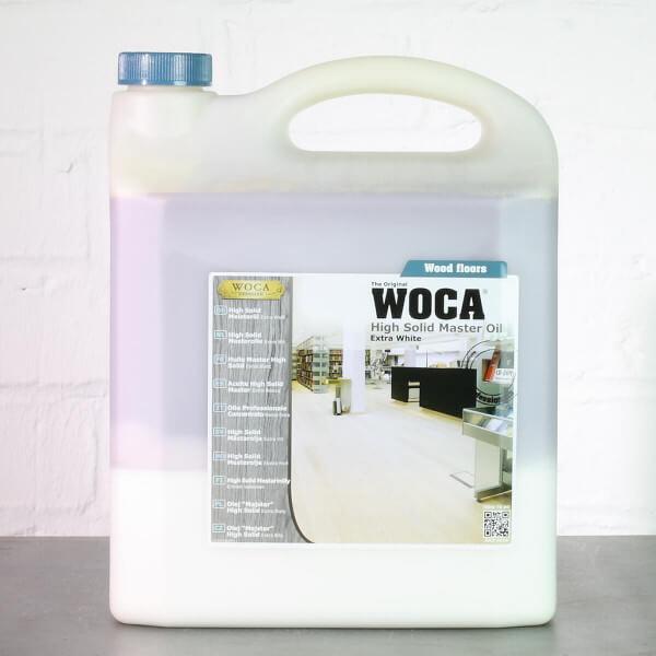 WOCA High Solid Meisteröl extra weiß 13% - 5 Liter