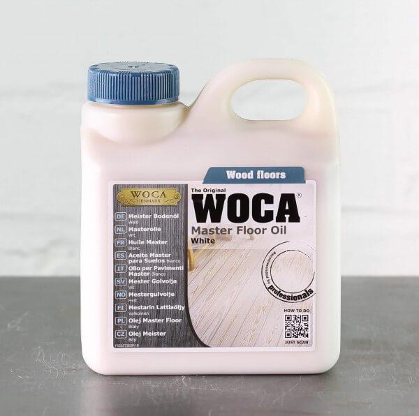WOCA Meister Bodenöl weiß 1 Liter
