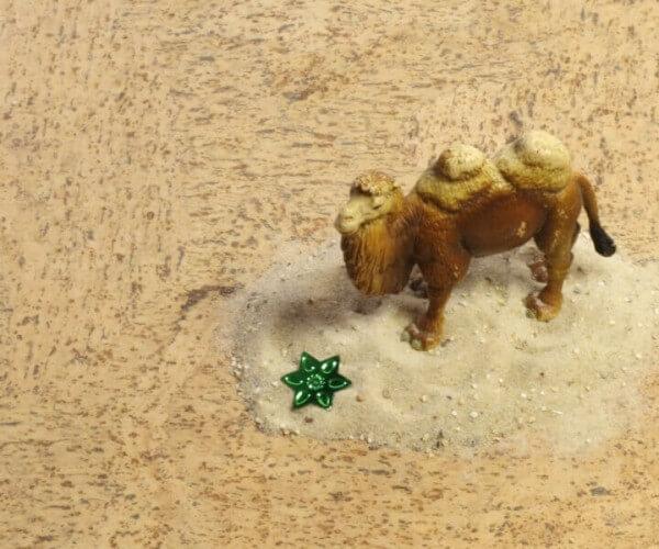 Corknatura Rapid Sand lackiert · 905 x 295 x 10,5 mm · Cortex Korkboden