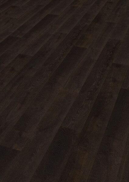 Boston Landhausdiele Eiche Darkblack astig handgehobelt gebürstet kerngeräuchert geölt