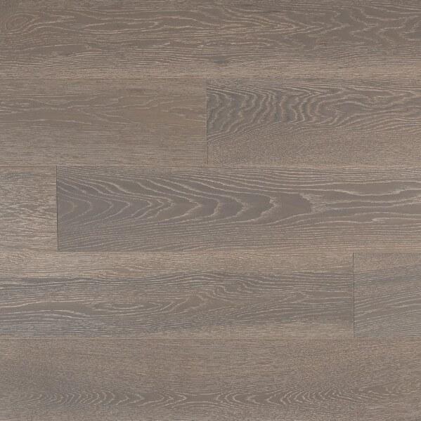 Landhausdiele Eiche New York Skyline Grey leicht gebürstet matt lackiert · Lamett