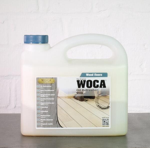 WOCA Öl-Refresher weiß 2,5 Liter