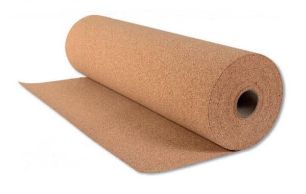 10 m² Rollkork Korkunterlage 2,0 mm