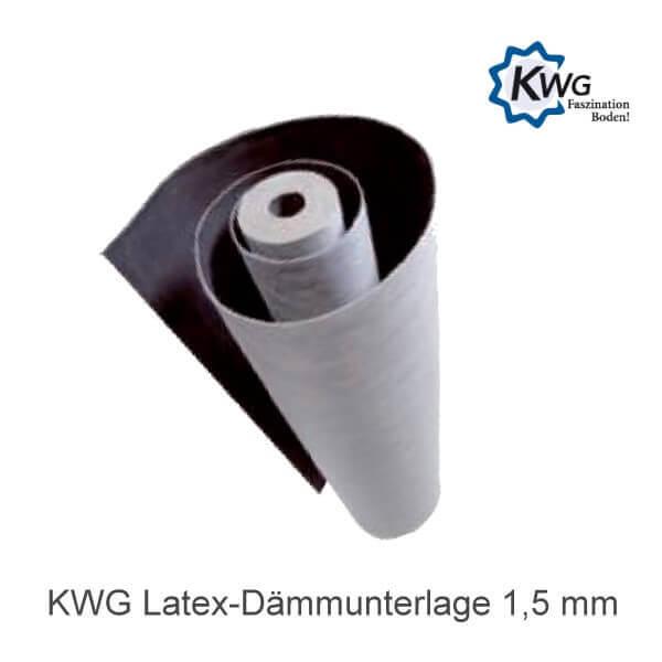 10 m² Latex-Dämmunterlage 1,5 mm für KWG Hydrotec