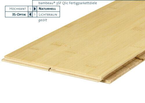 3SF Qlic naturhell horizontal geölt Bambeau