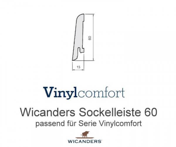 Sockelleiste Typ 60 für Wicanders Wood Go