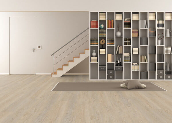 White Washed Oak Wood Resist Plus Vinylboden · Wicanders