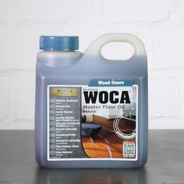 WOCA Meister Bodenöl natur 1 Liter