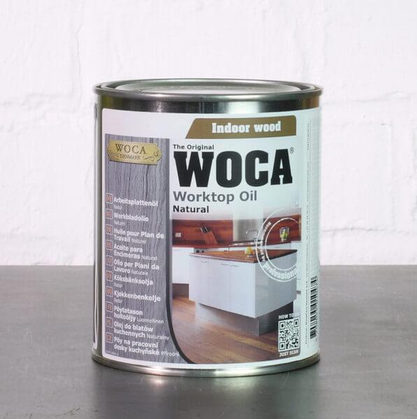 WOCA Arbeitsplattenöl Natur 0,75 Liter