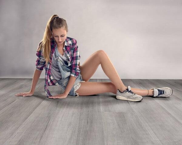 Platineiche · 1200 x 10 x 8,7 mm · Trend Comfort 0.30 KWG Vinylboden