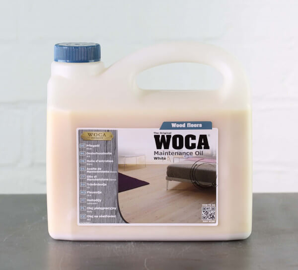 WOCA Pflegeöl weiß 2,5 Liter