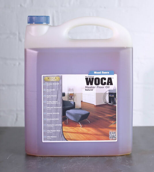 WOCA Meister Bodenöl natur 5 Liter