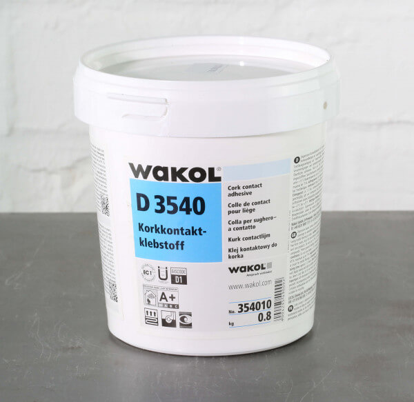 Wakol D 3540 Kork-Kontaktkleber 0,8 kg