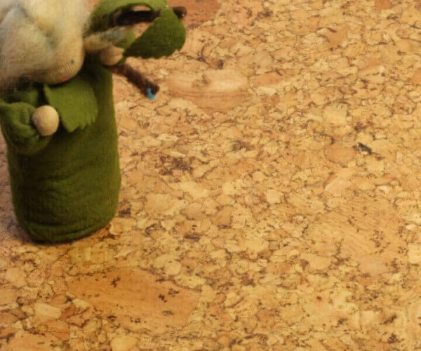 Corknatura Spurt Natur lackiert · 905 x 295 x 10,5 mm · Cortex Korkboden