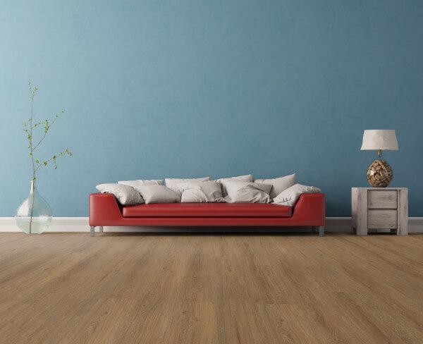 Elegant Dark Oak Wood Resist Plus Vinylboden · Wicanders