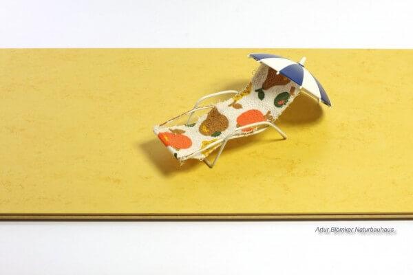 Zitrone · KWG Picolino · 10 mm Linoleum Klick-Fertigboden