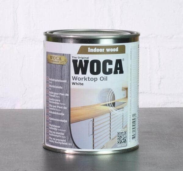 WOCA Arbeitsplattenöl weiß 0,75 Liter