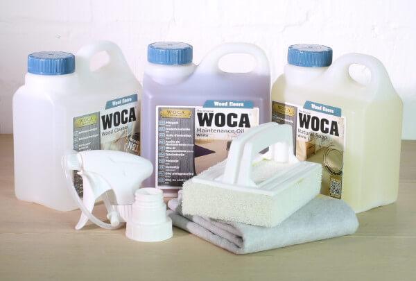 WOCA Pflegebox weiß