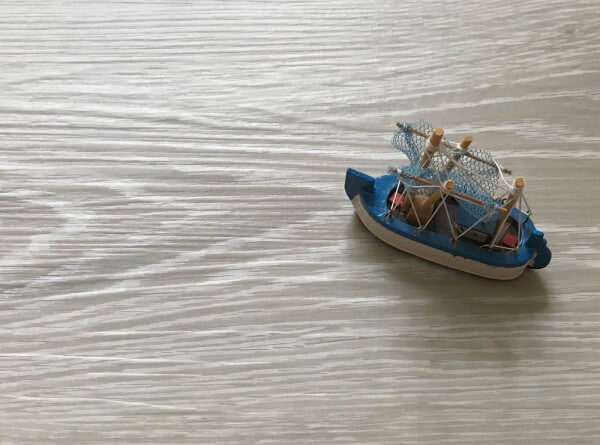 Solid-Trend Sea sand · 5 mm wasserfester 0.55 Granorte Klick-Vinylboden