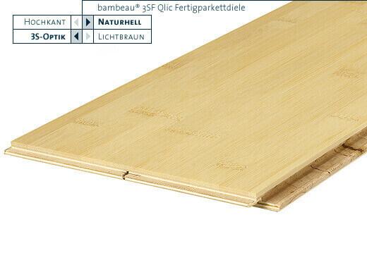 3SF Qlic naturhell horizontal lackiert Bambeau