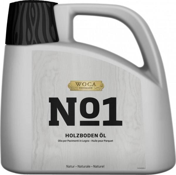 WOCA No1 Holzbodenöl natur 2,5 Liter