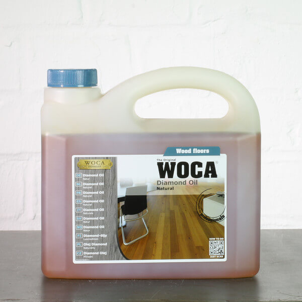 WOCA Diamond Oil natur 2,5 Liter