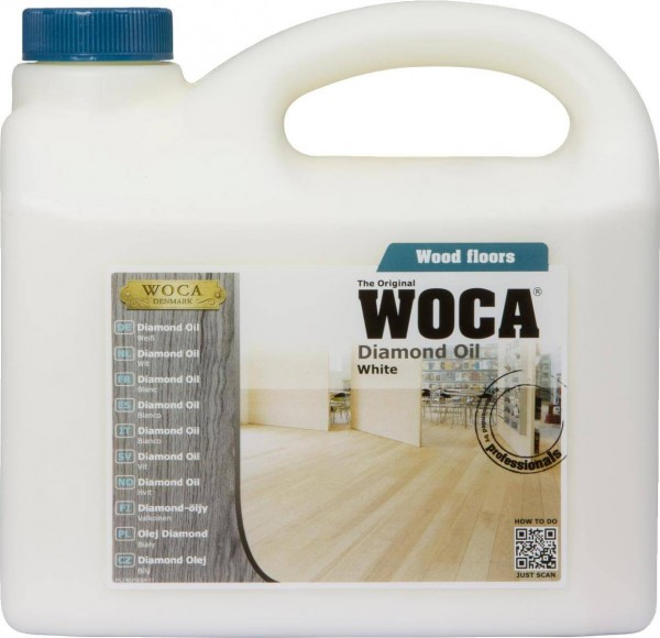 WOCA Diamond Oil weiß 2,5 Liter