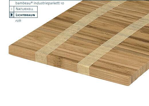 Hochkantlamelle lichtbraun Bambeau Industrieparkett Bambusparkett 10 mm-Copy