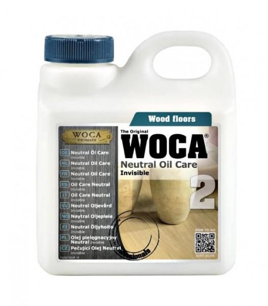 WOCA Neutral Öl Care invisible 1 Liter