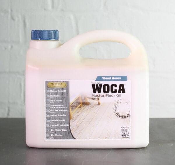 WOCA Meister Bodenöl weiß 2,5 Liter