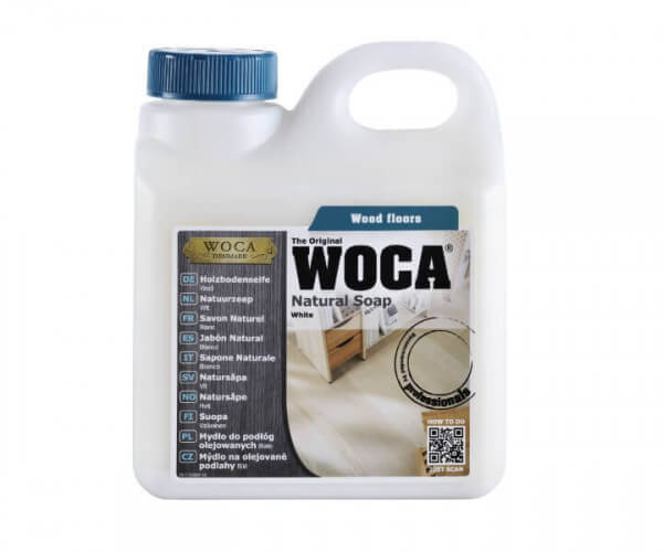 WOCA Holzbodenseife weiß 1,0 Liter