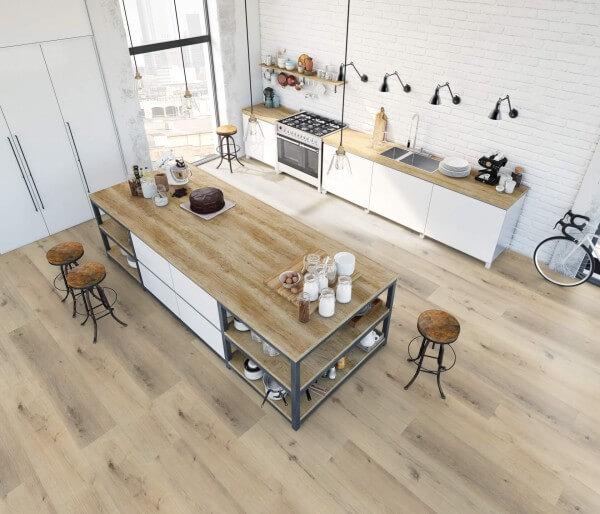 Baroloeiche · 1200 x 10 x 8,7 mm · Trend Comfort 0.30 KWG Vinylboden