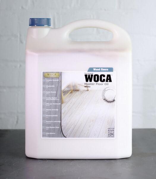 WOCA Meister Bodenöl weiß 5 Liter