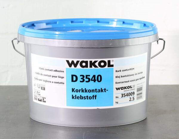 Wakol D 3540 Kork-Kontaktkleber 2,5 kg
