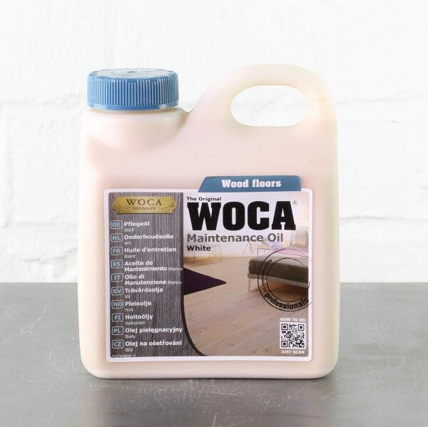 WOCA Pflegeöl weiß 1,0 Liter