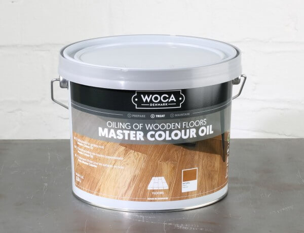 WOCA Meister Bodenöl natur 2,5 Liter (Master Colour Oil natural)