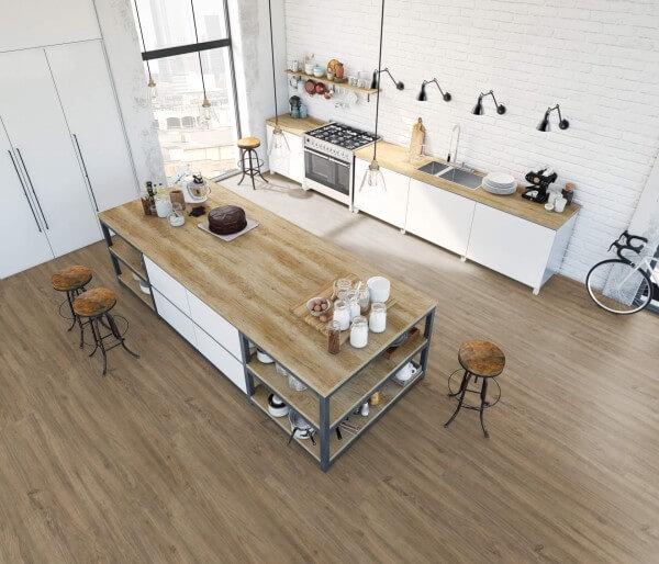 Bergkiefer rustik · 1200 x 10 x 8,7 mm · Trend Comfort 0.30 KWG Vinylboden