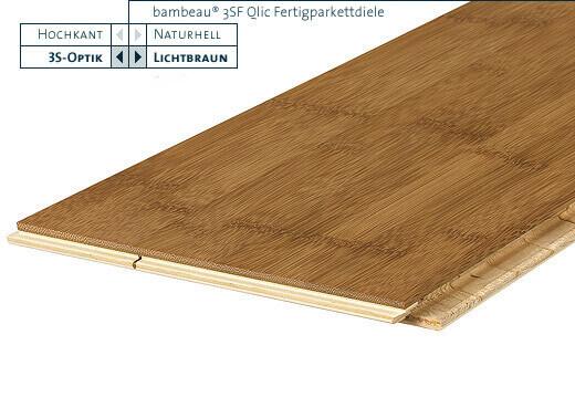 3SF Qlic lichtbraun horizontal lackiert Bambeau