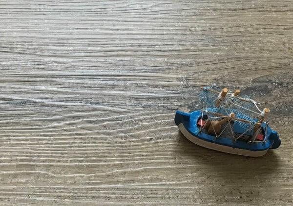Solid-Trend Barnwood · 5 mm wasserfester 0.55 Granorte Klick-Vinylboden