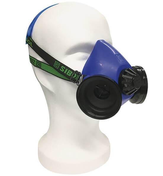 Sibol Silikon Halbmaske · Respir II Deluxe · ohne Filter · R & G Faserverbundwerkstoffe