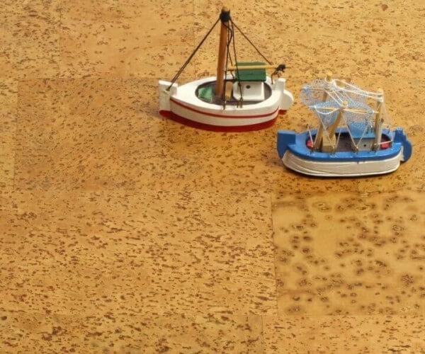 Corknatura Schiffsboden lackiert Cortex Korkboden
