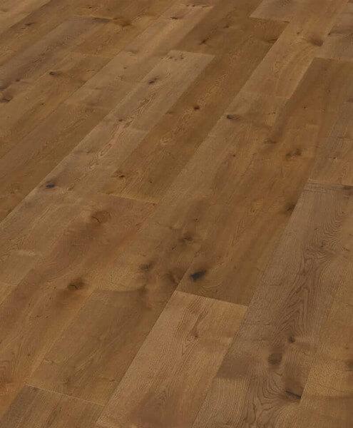 Boston Landhausdiele Eiche XL astig geräuchert gebürstet geölt