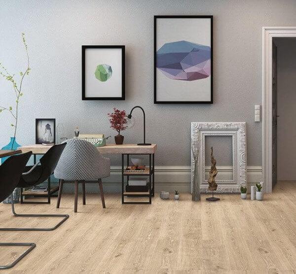 Wood Essence Washed Highland Oak Printkorkboden · Wicanders