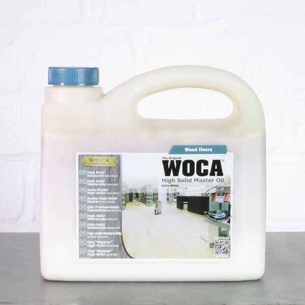 WOCA High Solid Meisteröl extra weiß 13% - 2,5 Liter