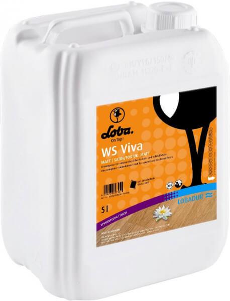 Loba WS Viva halbmatt 5 Liter Parkettlack