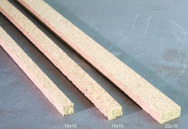 Korkdehnstreifen 15 mm x 10 mm