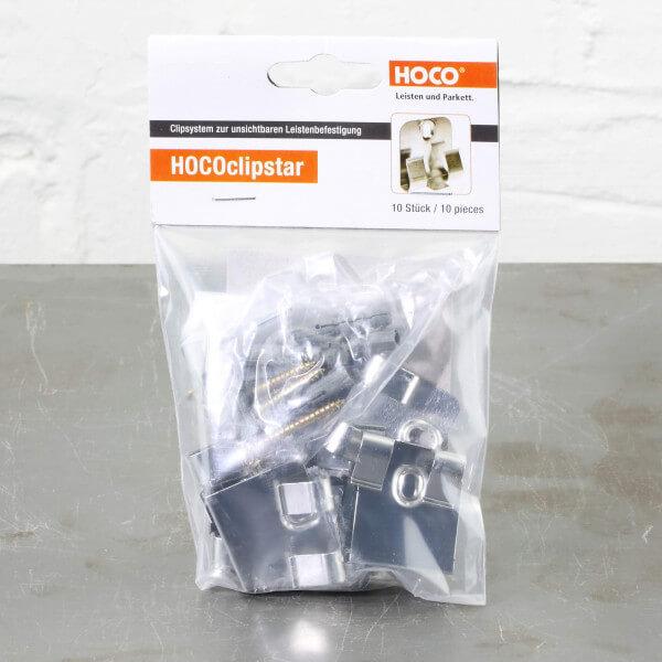 10 Stück Hoco Clipstar Clips für Hoco Fußleisten