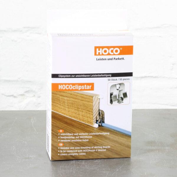 50 Stück Hoco Clipstar Clips für Hoco Fußleisten