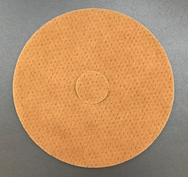 Bona Nylon-Pads beige Ø 407 mm x 10 mm